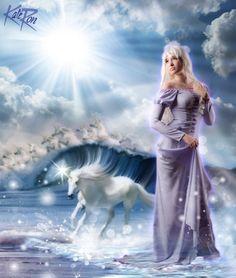lady amalthea The Last Unicorn