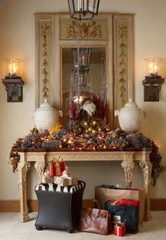 In love with the holiday season here at Rustic Redeaux