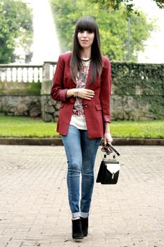 Blazer and Booties