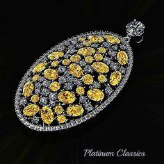 #fabergécanaryegg #egg #pendant #vividyellowdiamonds #ovalyellowdiamonds #roundyellowdiamonds #whitediamondslices #domey  #gallery #windows #galaxyedge6 #platinum #pt950 #3ddesigned #3dprinted #jewelry #ptc #platinumclassics