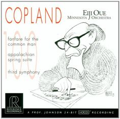 Copland: Fanfare for the Common Man, Appalachian Spring Suite, Third Symphony. A protégé of Leonard Bernstein, Oue was bequeathed the baton used by Bernstein in his final concert-the musical equivalent of a laying on of hands-and he opts to bring out a similar kind of multilayered American Romanticism, mixing transcendentalist vision with sinewy, driving vitality. Thomas May. Created By: (Composer) Aaron Copland, (Orchestra) Minnesota Orchestra, (Conductor) Eiji Oue.
