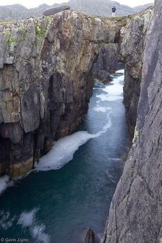 Great Arch, Owey Island , Donegal, Ireland.. More