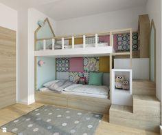 Pokój dziecka styl Skandynawski - zdjęcie od TutajConcept - Pokój dziecka - Styl…