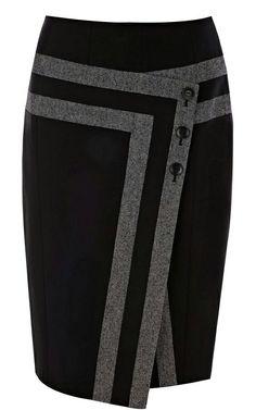 ~ Karen Millen Shiny tweed separates - My Style ~ Mode Style, Style Me, Karen Millen, Business Attire, Work Attire, Mode Inspiration, Work Fashion, Office Fashion, Fashion Design