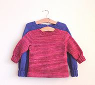 a free pattern Ravelry: Kids' Basic Raglan Sweater pattern by Catherine McMillan