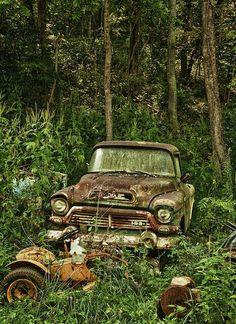 Rusty truck..