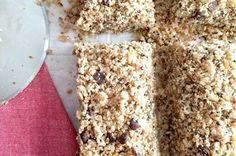 Chocolate Almond Chia Hemp Flax Bars