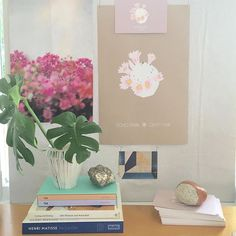 Home Desk scene ✨ picked up EPCF prints and invites from Paper Chase Press…