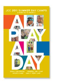 JCC Summer Day Camp Brochure