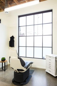 A Dental Office That Feels Like Home in interior design architecture Category Dental Office Design, Office Interior Design, Office Interiors, Clinic Design, Healthcare Design, Dental Office Decor, Dental Offices, Office Waiting Rooms, Hospital Design