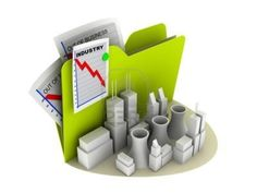 icône de l'industrie de crise fiche coincé sur le dossier Banque d'images - 5060656