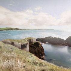 Carmody+Groarke+reveals+plans+for+cliffside+hotel+on+Devon's+Burgh+Island