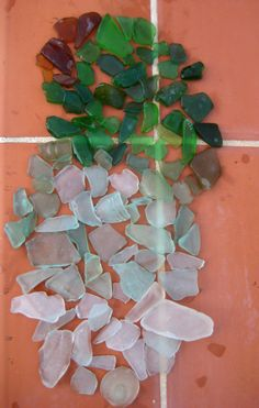 Cristales de playa. Ibiza