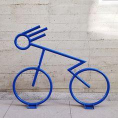 Well-designed #bike rack #bicycle