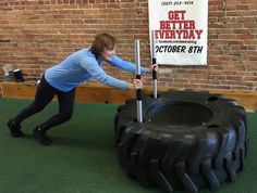 This week in my discomfort zone, I'm pushing my limits as I lift and push a lot of weight. Come along for the workout. Maybe you'll be inspired to push some limits, too.