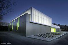 Gymnase Clapiers / MDR Architectes #sports #architecture