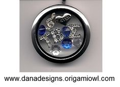 Nothin' but love for the Sorority! Order this custom locket from a fellow Tau Beta Sigma sister! http://www.danadesigns.origamiowl.com