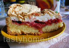 Фруктовый пирог с безе