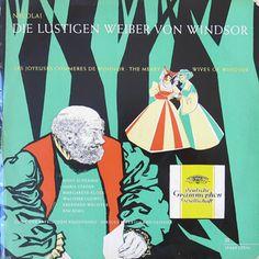 Nicolai*, Anny Schlemm, Maria Stader, Margarete Klose, Walther Ludwig, Eberhard Wächter, Kim Borg, Chor Des Bayerischen Rundfunks, Ferdinand Leitner - Die Lustigen Weiber von Windsor (Vinyl, LP) at Discogs
