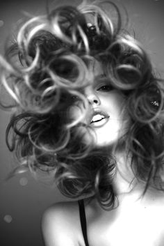 When you care for your hair your whole life changes. Good hair tells other people that you are put together. Few people can resist or deny the appeal of a Boudoir Pics, Sassy Girl, Big Hair, Hair Dos, Boudoir Photography, Fashion Photography, Mannequins, Hairdresser, Hair Inspiration