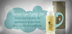 Revital Eyes Eyelift Gel firms and refines the appearance of fine lines, dark circles and puffiness.