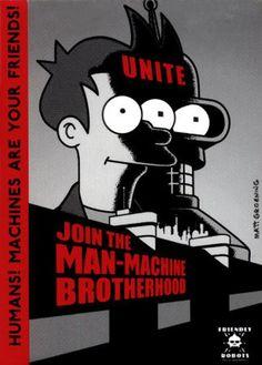 Join the Man-Machine Brotherhood