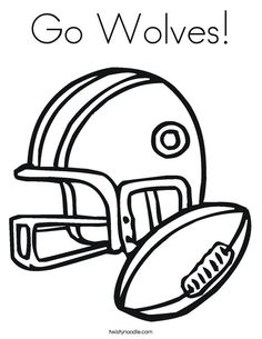 Football Coloring Pages & Sheets for Kids | Free printable, Free and ...