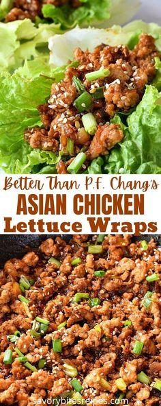 Chicken Wrap Recipes, Lettuce Wrap Recipes, Keto Chicken, Recipe For Lettuce Wraps, Rotisserie Chicken, Lettuce Wrap Ideas, Healthy Lettuce Wraps, Grilled Chicken, Baked Chicken