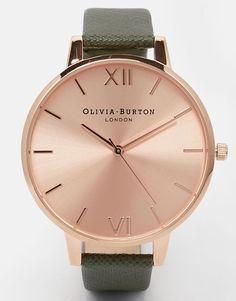 Olivia Burton Khaki Big Dial Watch