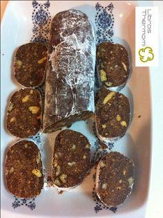 salchichon de chocolate con thermomix