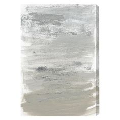 Found it at AllModern - Silver Storm Painting Print on Wrapped Canvas