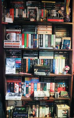 "readaroundtherosie: "" my shelves are getting a little too packed full, think I…"