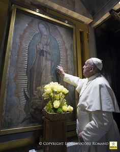 Pape François - Pope Francis - Papa Francesco - Papa Francisco : 13-02-2016 Pope Francis in Mexico: 13-02-2016 Pope Francis in Mexico: Holy Mass in the Basilica of Our Lady of Guadalupe- Messa Santuario Madonna di Guadalupe   par news.va