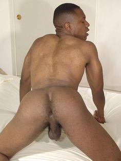 Ebony thug pounding tight ass hole
