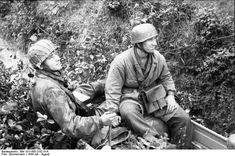 German paratroopers. France July 1944