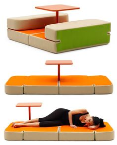 Awesome Furniture And Accessories. Modern Fun Colorful Small Space Solutions With  Cool Sweet Talk And Dream Multifunction For A Table With Two Cushy. Awesome Design