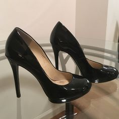 Brian Atwood Black Patent Heels Size 8. Great condition! Just needs new tips! Brian Atwood Shoes Heels