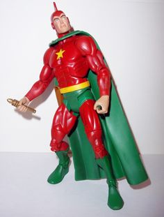 mattel toys for sale to buy DC UNIVERSE Classics action figures STARMAN ted knight 100% COMPLETE condition: excellent - displayed only/collector quality figure size: 7 inch ---------------------------