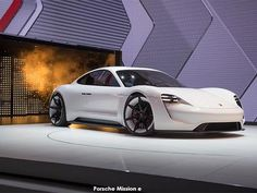 Porsche Stuns Frankfurt With All-Electric Mission E Sports Sedan [w/Videos] Ferdinand Porsche, Porsche Taycan, Audi, Frankfurt, Porsche Mission E, Porsche Electric, Diesel, Electric Sports Car, Cars Uk