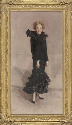 Brooke Astor portrait