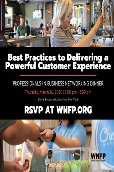 Be one of the first to reserve your seat to attend 03/26/20 Professionals in Business Networking Dinner.  RSVP Today!  Early bird discount tickets. Limited seats available. #westchester #events #business #networking