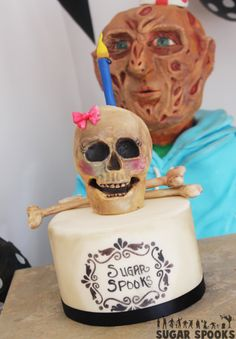 """""""FREDDY KREUGER'S PARTY"""" - AMBER ADAMSON - TOP TIER CAKES Sugar Spooks"""