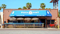 "Pizza Port Solana Beach with the palapas. Great beers with a tight space inside. Great pizza and ""You've got buddies"". :)"