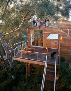 LOVE the dual decks...Architecture ♥
