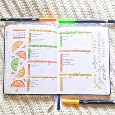 The Ultimate List of Summer Bullet Journal Theme Ideas - The Petite Planner