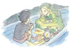 When Marnie was There (思い出のマーニー)  Concept art and sketches from the Studio Ghibli film that were included in the art book Hiromasa Yonebayashi Illustrations (Amazon US | JP).