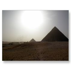 To see the Pyramids at sunset.