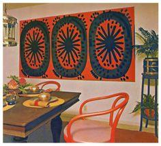 Marimekko Maija Isola fabric Vesimeloni (1963)