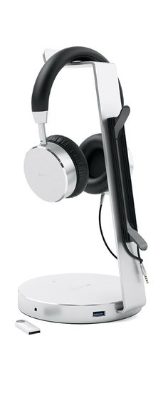 d1380b0bd8e HEADPHONE STAND - conveniently store your headphones so they are always in  reach! Features a