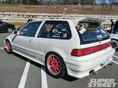 Honda hatchback 89